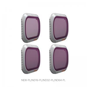 PGYTECH NDPL-Filter (4 i 1) kit för MAVIC 2 PRO: NDPL8, NDPL16, NDPL32, NDPL64