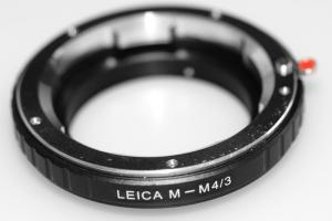 Kiwifotos Objektivadapter till Leica (M) för Micro 4/3 kamerahus