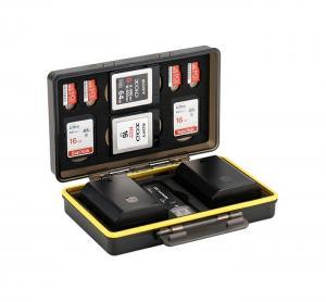 JJC Minneskortsfodral för 2x kamerbatterier 2x SD + 4x MSD + 2 XQD