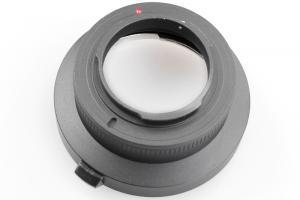 Kiwifotos Objektivadapter till Canon EOS för Nikon N1 kamerahus