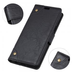 Plånboksfodral för Nokia 6.1 Plus/ X6 - Svart marmormönster
