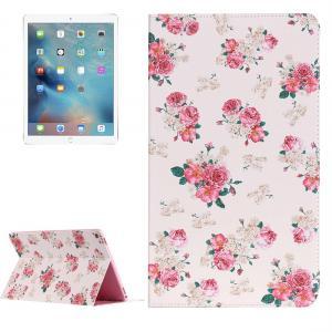 Fodral för iPad Pro 12,9 - tum - Vit med rosa blommor
