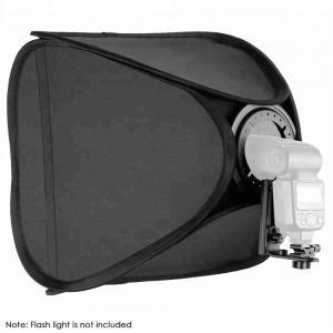 Portabel softbox med blixtfäste för speedlights