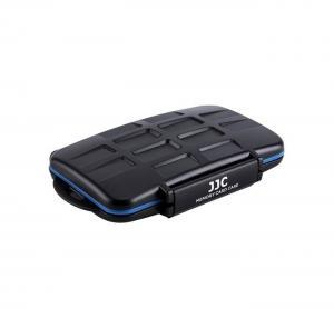JJC Minneskortsfodral för 2x CF + 4x SD + 4x MSD