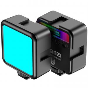 Ulanzi RGB Led-Panel Mini för kamera med inbyggt batteri