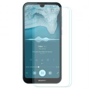 Displayskydd 2st för Huawei Y5 (2019) av härdat glas