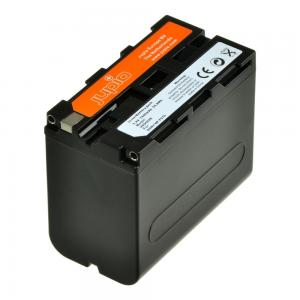 Jupio kamerabatteri 7400mAh ersätter Sony NP-F970