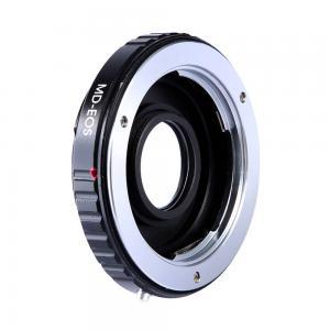 K&F Objektivadapter till Minolta/Konica MC MD objektiv för Canon EOS kamerahus