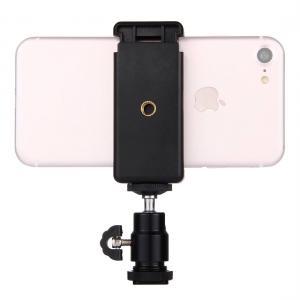 Mobilklämma för smartphones 5.5-8cm med liten kulled - Puluz