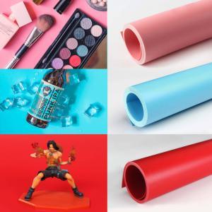 Pappersbakgrunder 3st PVC 140x70cm röd, rosa, blå