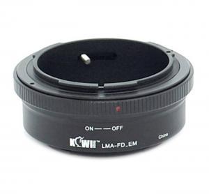 Kiwifotos Objektivadapter till Canon FD för Sony E kamerahus