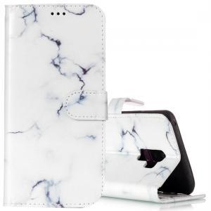 Plånboksfodral för Galaxy S9 Plus - Vit marmor