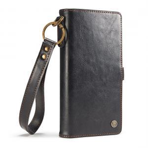 CaseMe för Galaxy S8 Plus (G955) - Plånboksfodral med skal för PU-läder