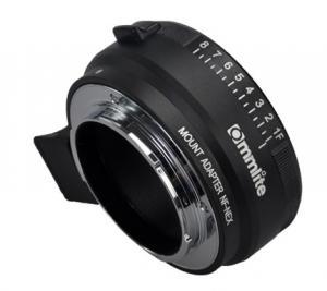 Commlite Objektivadapter till Nikon F Objektiv för Sony E Kamerahus