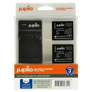 Jupio Batteripaket ersätter Lumix DMW-BLG10