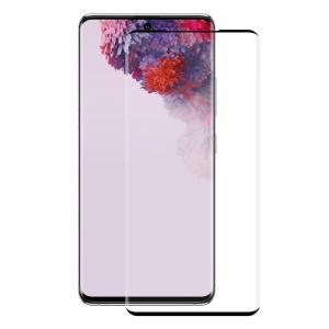 Displayskydd heltäckande för Galaxy S20 Ultra av härdat glas