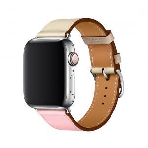 Armband för Apple Watch 38mm - Konstläder Tvåfärgad