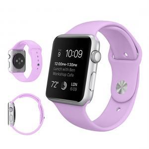Armband för Apple Watch 42mm - Gummi