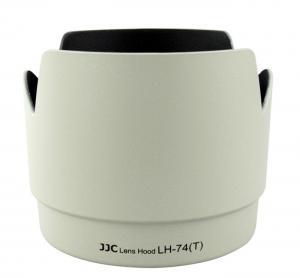 JJC Motljusskydd för Canon EF 70-200 f/4 L (LH-74(T)) Vit Tulpan