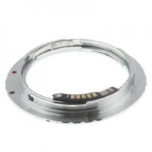 Objektivadapter till Pentax K för Canon EOS kamerahus chip
