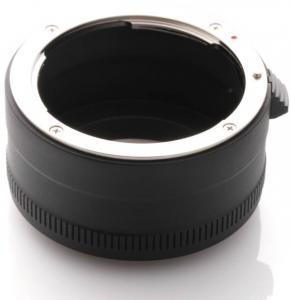 Kiwifotos Objektivadapter till Nikon F för Canon EOS M kamerahus