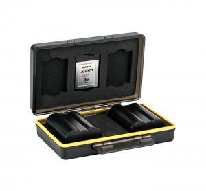 JJC Batteri & minneskortask 3xXQD olika batterimodeller