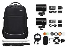 Godox 2xAD100 Pro tillbehörspaket & kameraryggsäck