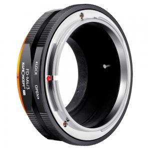 K&F Objektivadapter till Canon FD objektiv för Micro 4/3 kamerahus