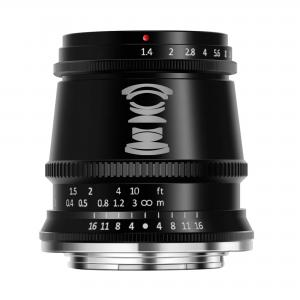 TTartisan 17mm f/1.4 Vidvinkelobjektiv APS-C för Fujifilm X