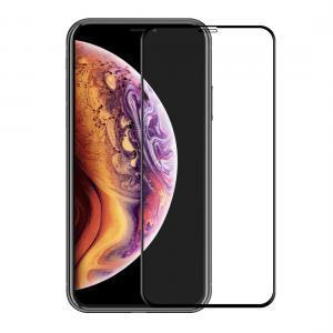 Enkay Displayskydd för Iphone - Av härdat glas 9H 6D Curved full frame Svart