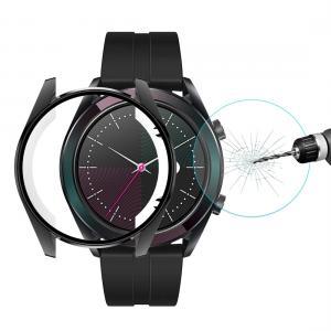 Enkay Displayskydd med Ram för Huawei Watch GT Elegant 42mm - Av härdat glas