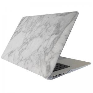 Skal för för Macbook 12-tum - Marmor vit