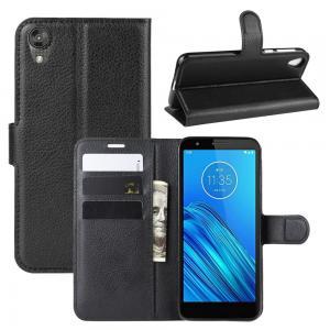Plånboksfodral för Motorola Moto E6