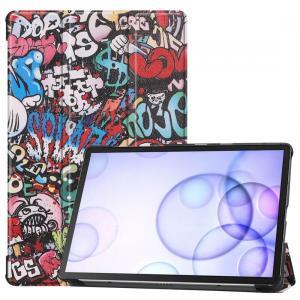 Fodral för Galaxy Tab S6 T860/T865 - Graffiti