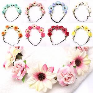 Hårband - Blandade blommor