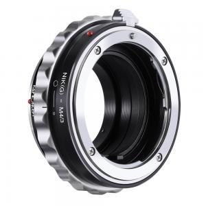 K&F Objektivadapter till Nikon G/F objektiv för Micro 4/3 kamerahus
