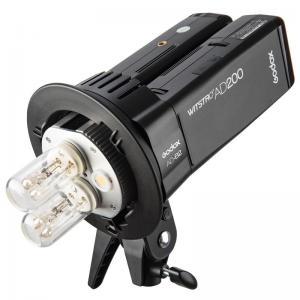 Godox AD-B2 blixthuvud med dubbla blixtrör för AD200 Pocketblixt