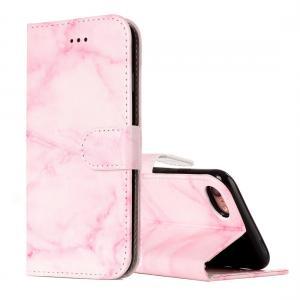Plånboksfodral för iPhone 7/8 - Rosa marmor