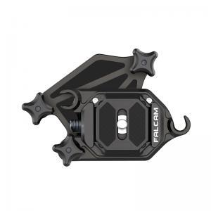 Kamerahölster med snabbkopplingsfäste & platta Falcam F38 Arca Swiss