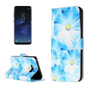 Plånboksfodral för Galaxy S8 - Orkide