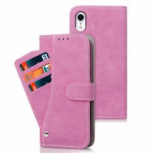 Plånboksfodral för iPhone XR - Med kortplatser och sedelfack