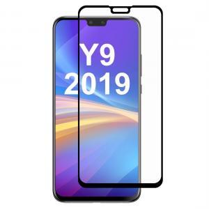 Enkay Heltäckande 2.5D Displayskydd 9H för Huawei Y9-(2019)- Svart ram