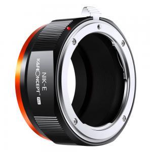 K&F Concept Objektivadapter Pro till Nikon F objektiv för Sony E kamerahus