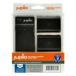 Jupio Batteripaket 1860mAh ersätter DMW-BLF19E