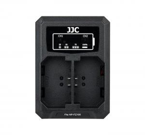 JJC USB-driven dubbel batteriladdare för Sony NP-FZ100