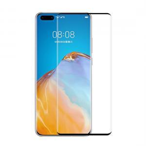 Displayskydd heltäckande för Huawei P40 Pro av härdat glas