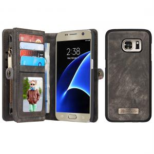 Plånboksfodral med magnetskal för Galaxy S7 - CaseMe