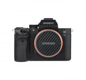 Kiwifotos Skin för Sony a7 III, a7R III - Svart kolfiberfilm
