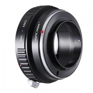 K&F Objektivadapter till Nikon F objektiv för Micro 4/3 kamerahus