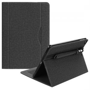 Fodral för iPad 9.7 - Med pennfack svart